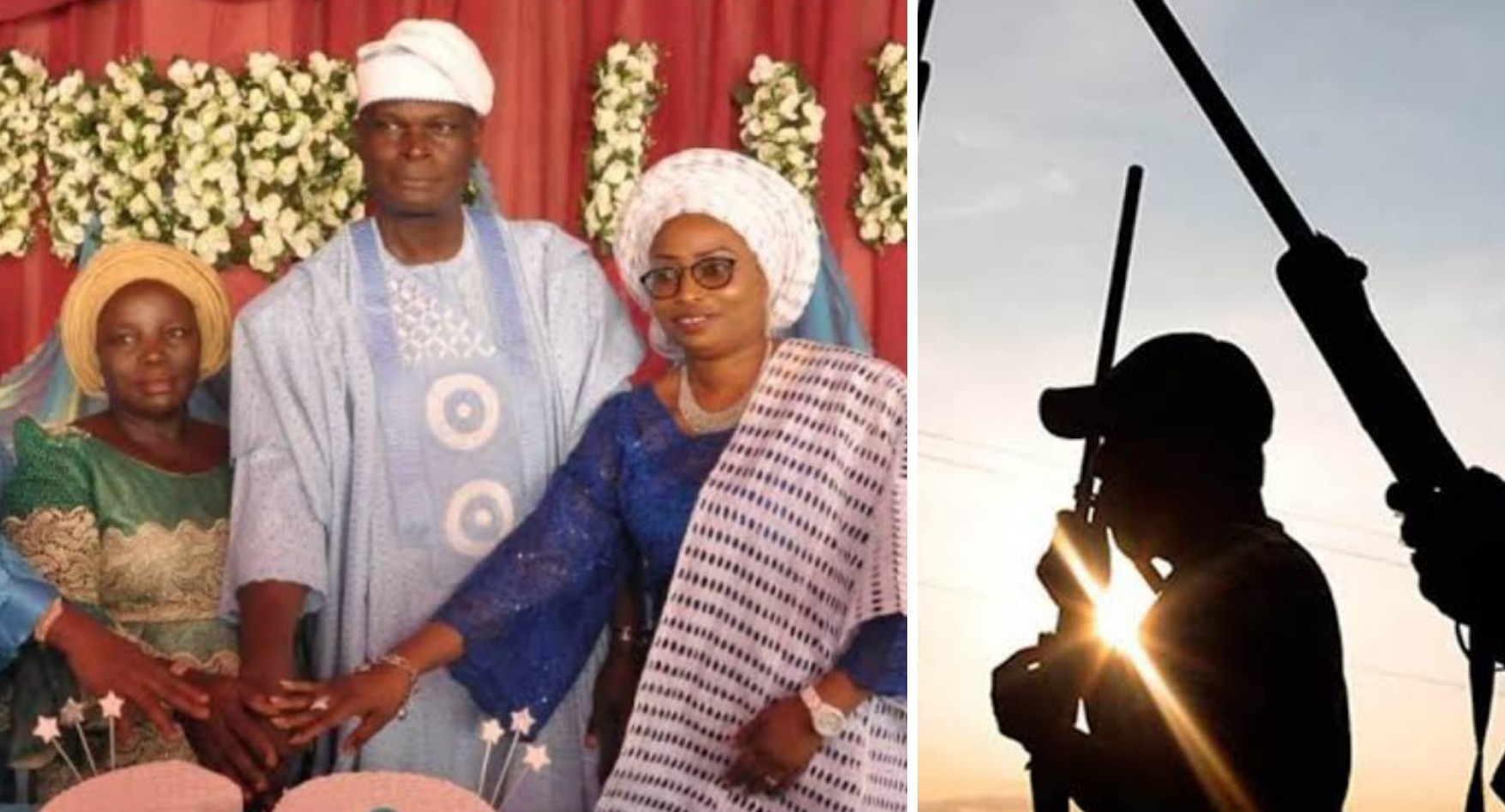Olugbenga's wife kidnapped in the state
