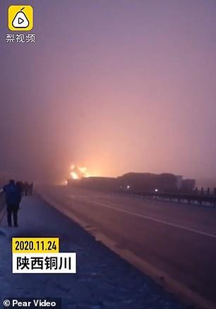Chinese highway crash