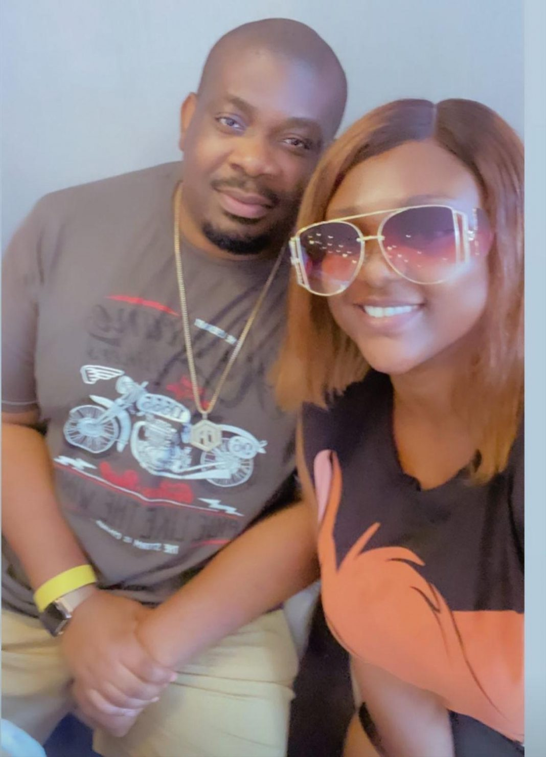 Don Jazzy and Nazo spotted together