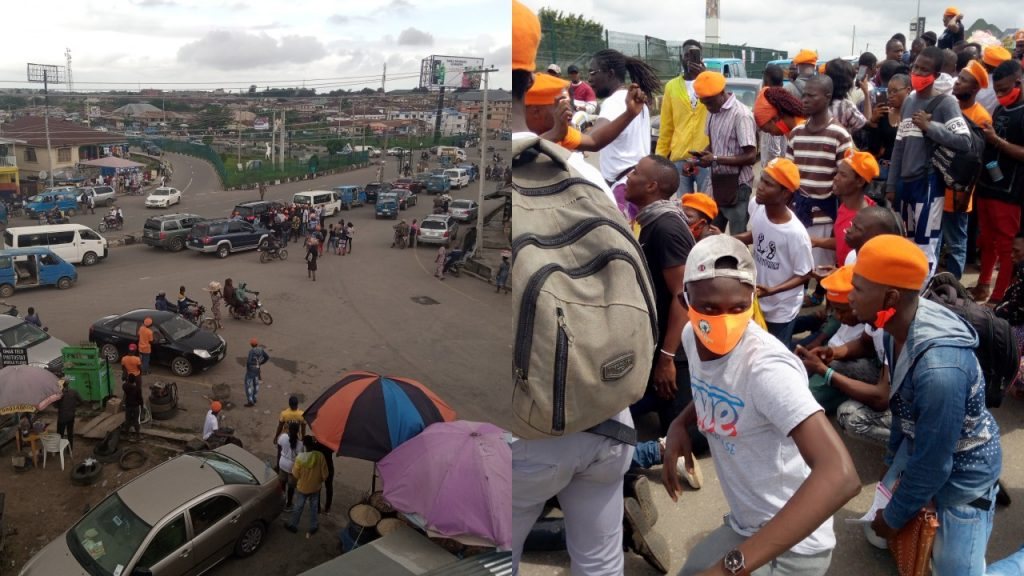 Revolution Now protesters allegedly brutalized by DSS officials