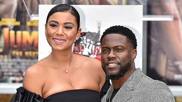 Kevin Hart and wife, Eniko