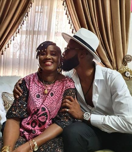 Tochi and his mother