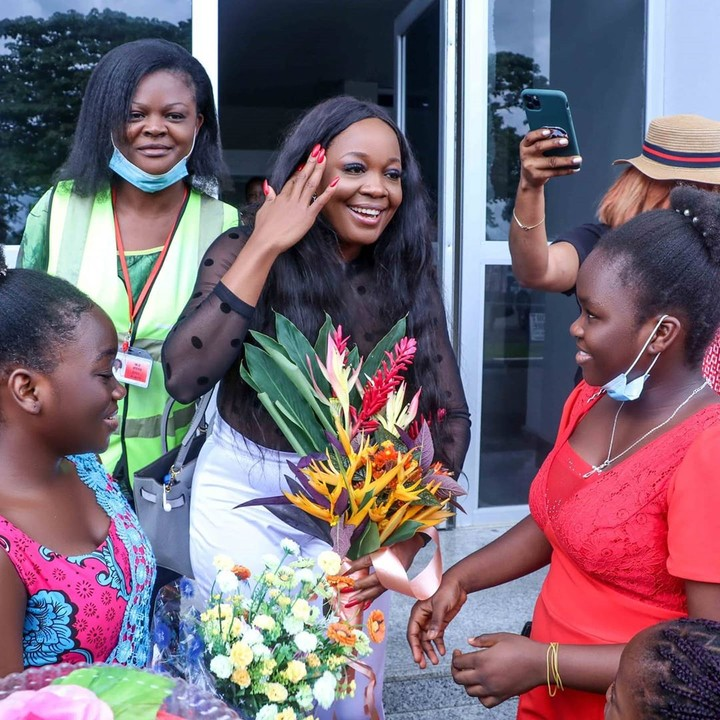 Lucy Edet's homecoming to Calabar