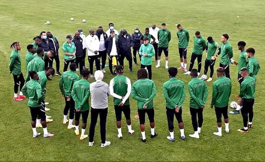 Super Eagles camp