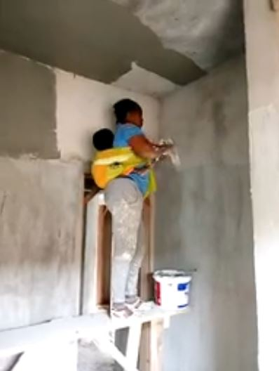 Mother painter