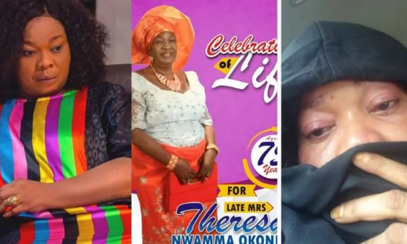 Chinyere Wilfred mourns death of her mother