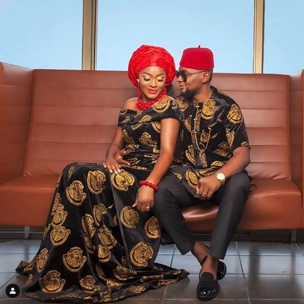 'She Is Not The One Posting' - Fans React As Photo Of Chacha Eke And Husband Emerges On Her Instagram Page