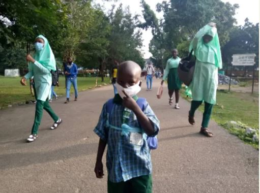 The students chased home in Abuja