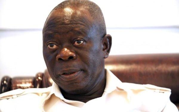 A former National Chairman of the All Progressives Congress, Adams Oshiomole