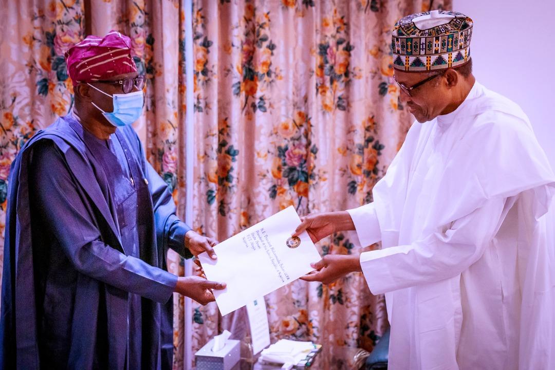 Babajide Sanwo-Olu meets Buhari