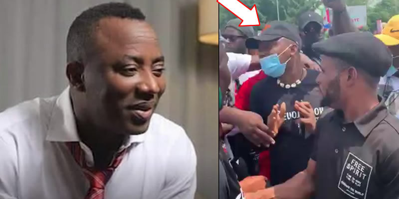 Sowore sent home from Abuja protest