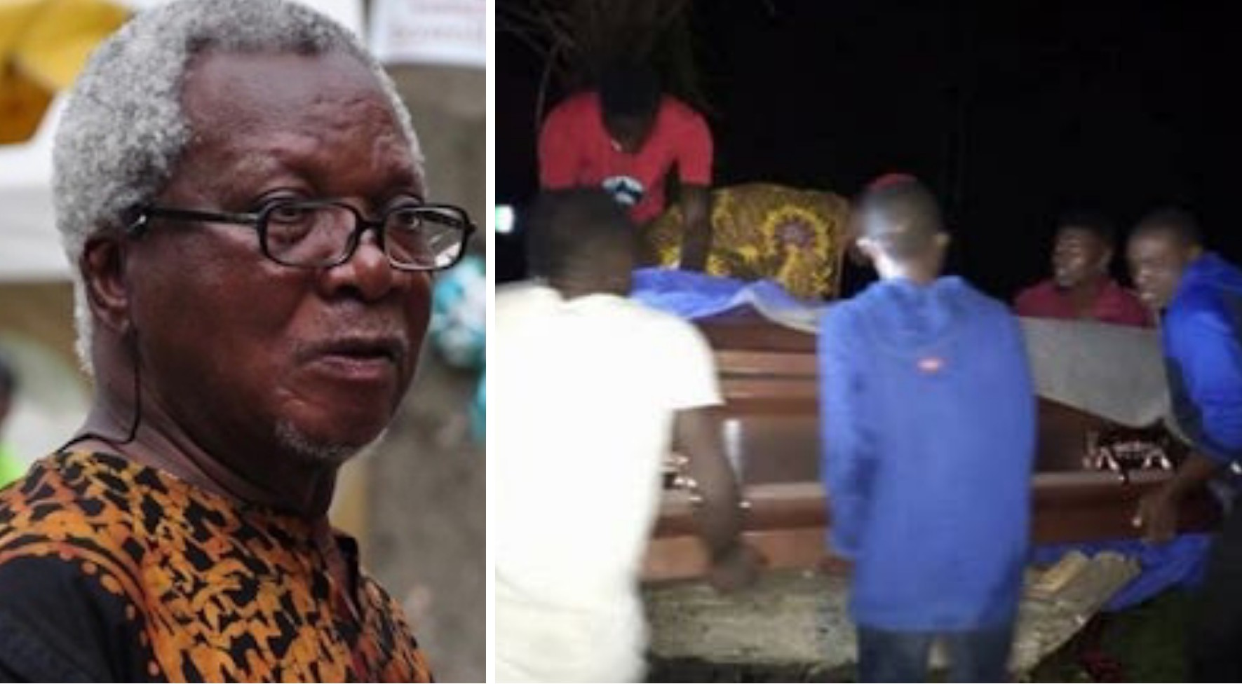 JP Clark has been buried