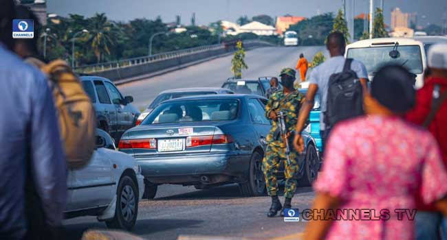 Soldiers and police take over EndSARS venues