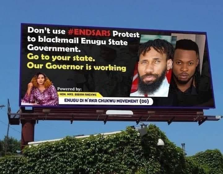 The controversial billboard
