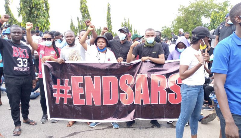 EndSARS protesters