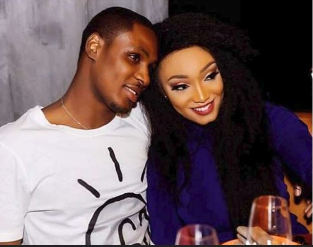 Ighalo and wife
