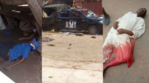 Two people were reportedly shot dead by soldiers in Osun