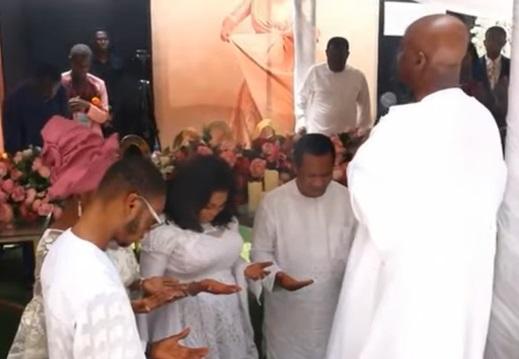 Bishop Oyedepo at Tope Alabi 50th Birthday celebration