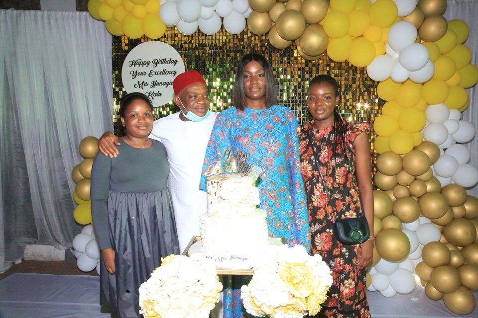 Interesting Photos From The Birthday Party Of Senator Orji Uzor Kalu's Wife