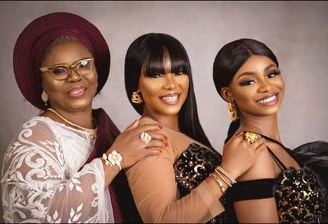 Iyabo Ojo shares three generation family photo