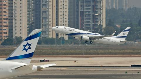 First flight from Israel lands in the UAE