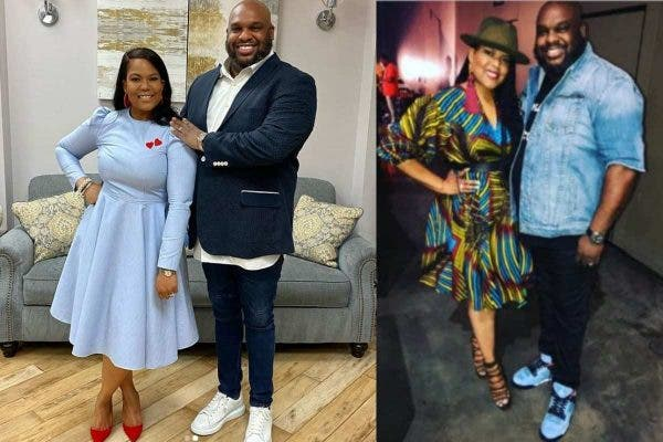 US Pastor John Gray and his wife, Aventer Gray