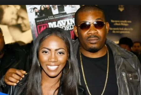 Don Jazzy and Tiwa Savage