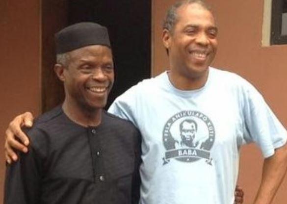 Yemi Osinbajo and Femi Kuti