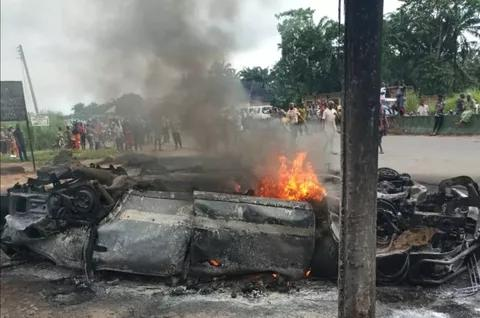 Car accident in Anambra
