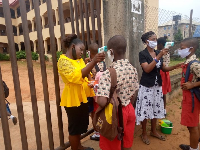 Anambra schools have reopened amid coronavirus