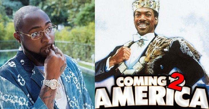 Davido will be featuring in coming to America 2