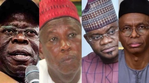 Some of the prominent members of the ruling APC reportedly in the US ban list