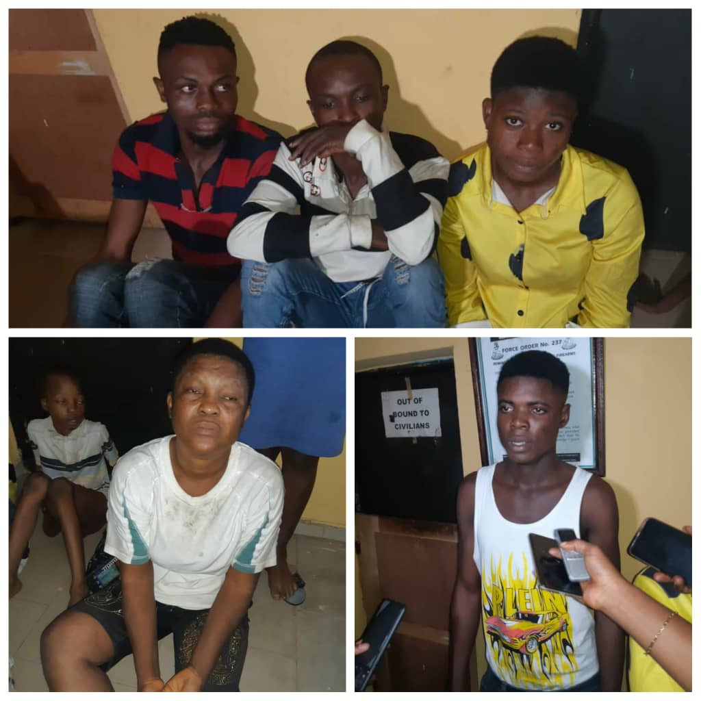 The child trafficking syndicate busted in Anambra