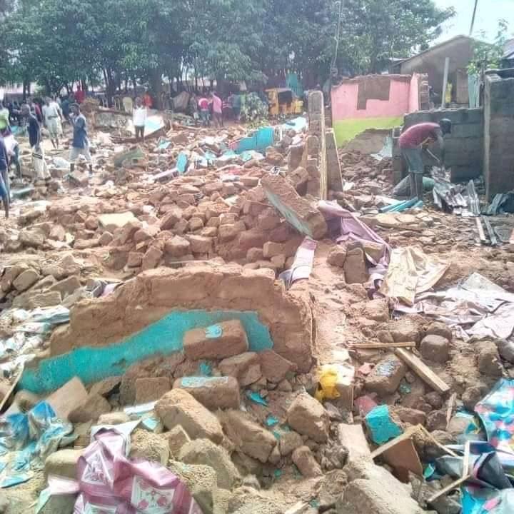 Abuja Brothel demolished