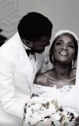 Nollywood actress marries her longtime boyfriend of 11 years