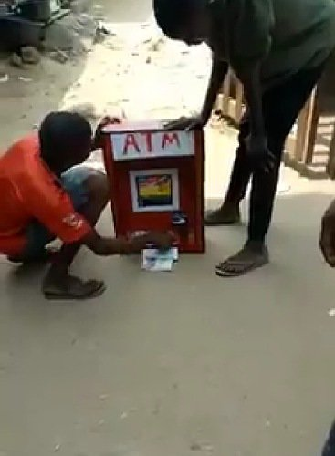 The boy manufactured ATM in Imo state