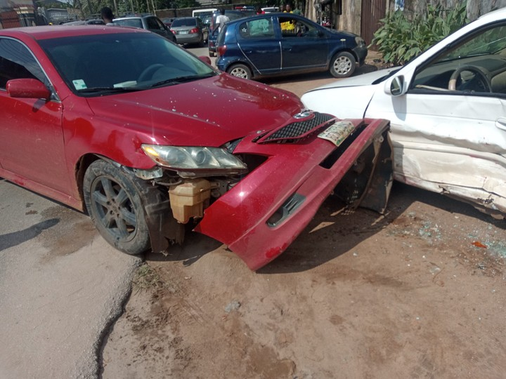 Car accident in Edo