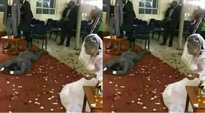 The Kenyan man left devastated after finding out bride's secret