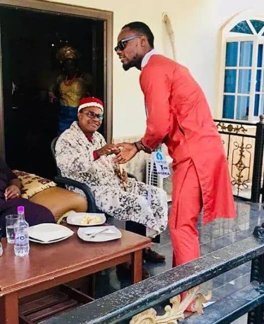 Prince meets his dad in Imo state