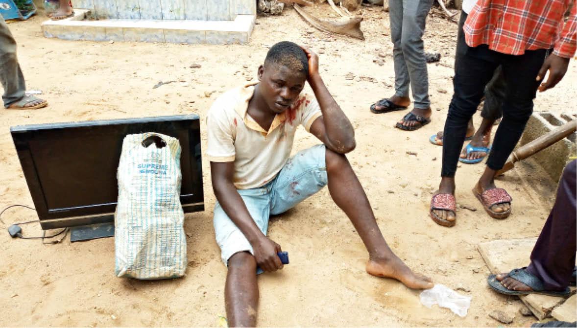 Abuja thief
