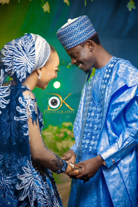 Bashir Ahmed and his wife