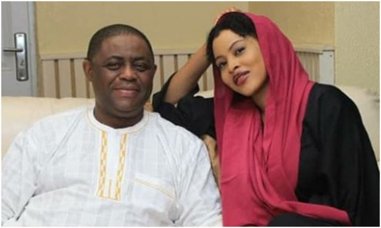 FFK and mystery woman