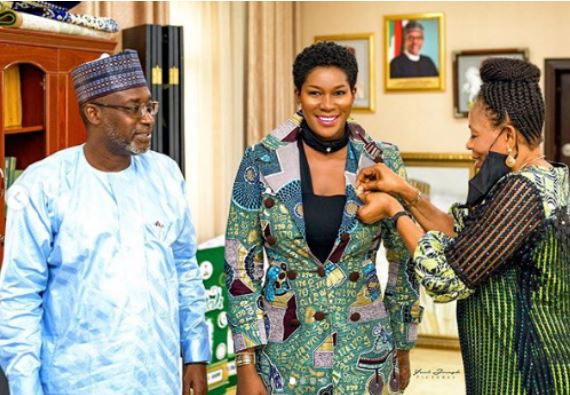 Stephania Okereke honoured by the federal government with new appointment