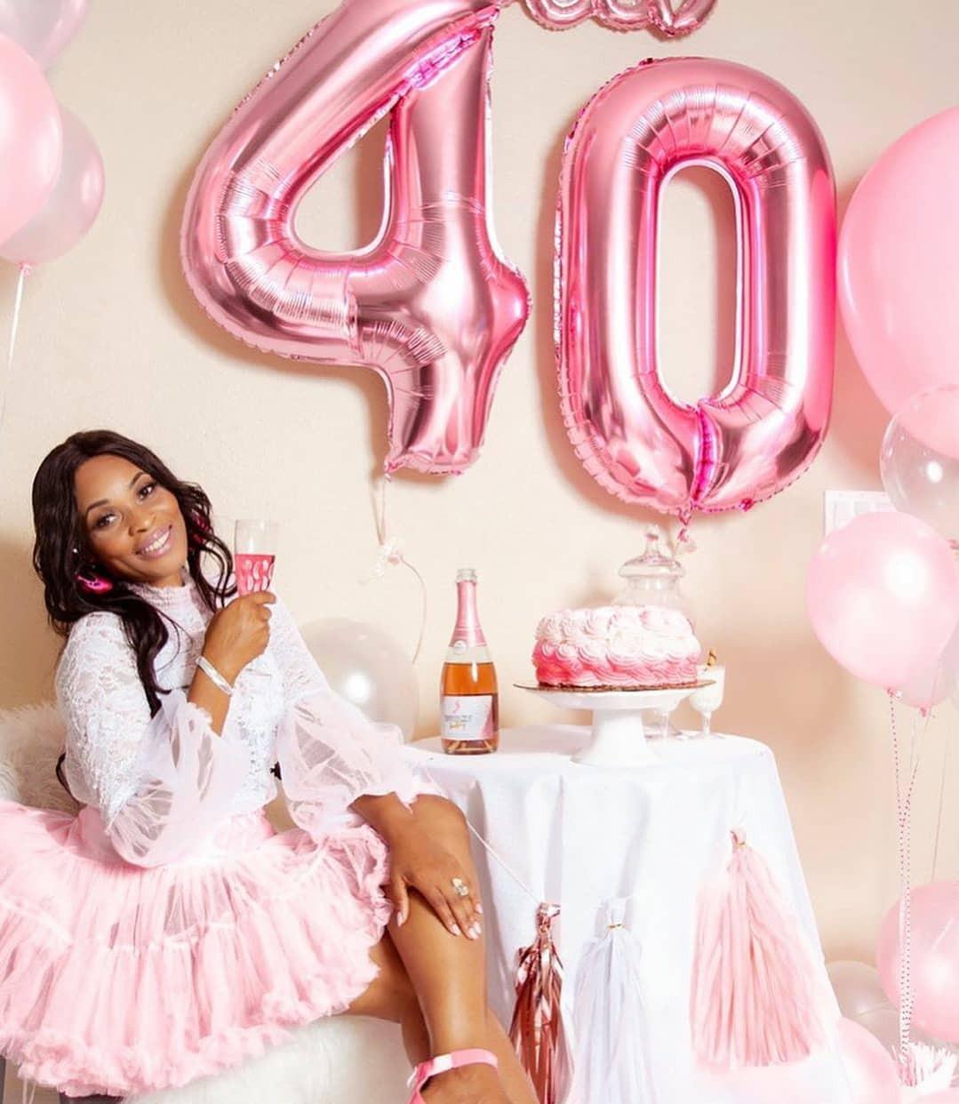 Georgina Onuoha has shared beautiful 40th birthday party
