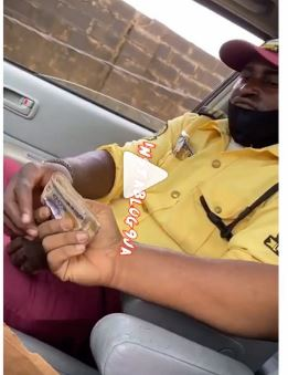 Lastma official caught taking bribe