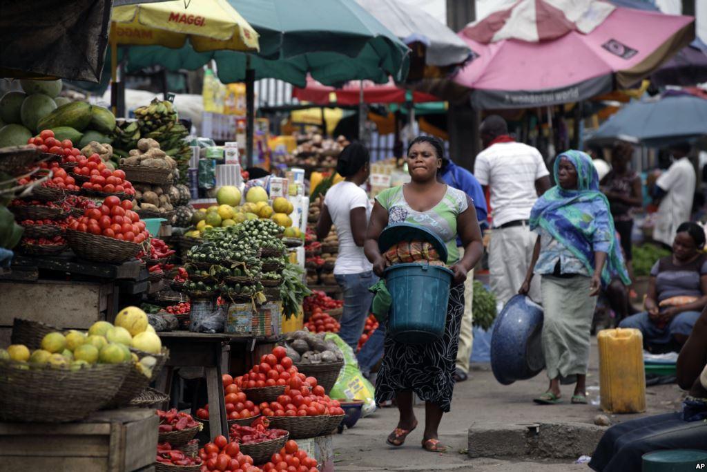 A market in Nigeria