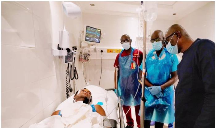 Sanwo-Olu visits victims of Lekki shooting in Lagos