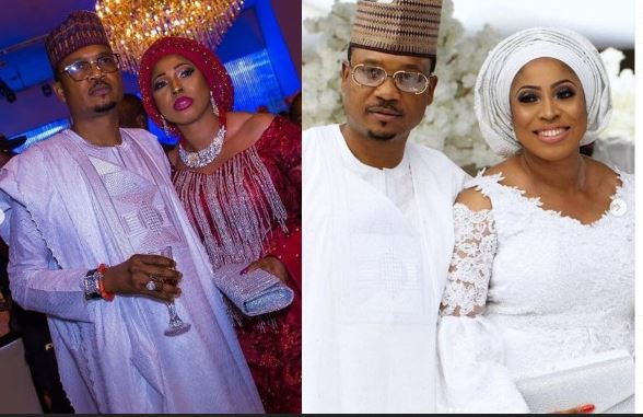 Shina peller and wife