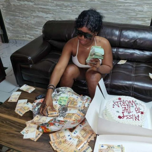 Wads of naira notes