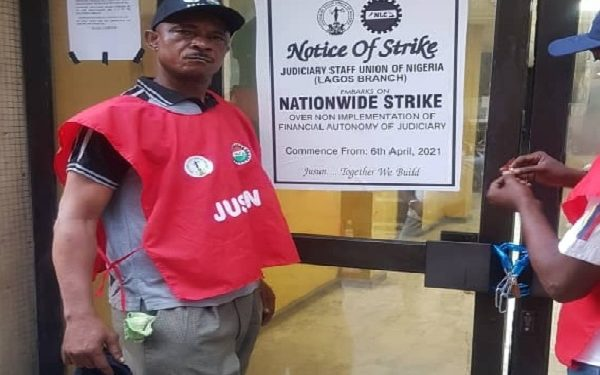 Judiciary workers embark on strike action